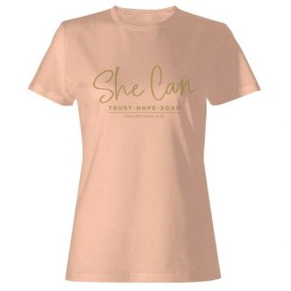 She Can T-shirt