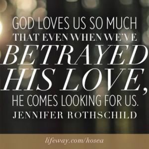 Betrayed His Love