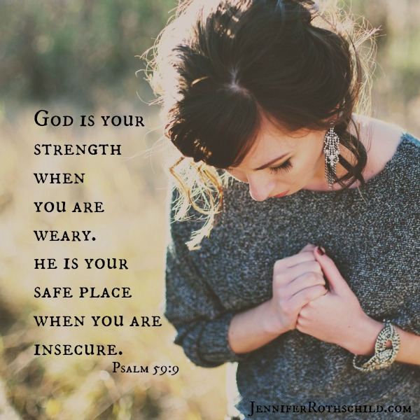 God is your strength