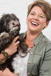 Jennifer Rothschild with puppy