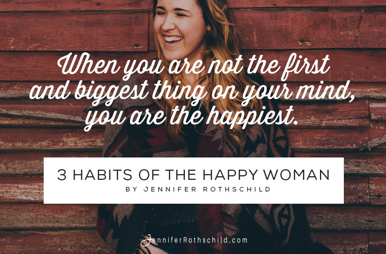 3 habits of the happy woman image