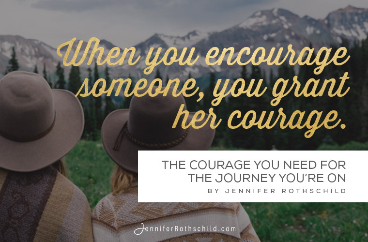 The Courage You Need quote image