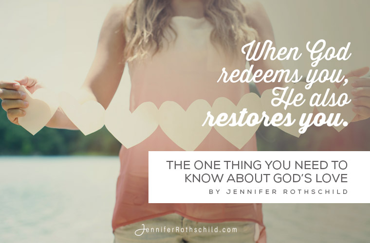 The One Thing You Need to Know About God's Love jpg