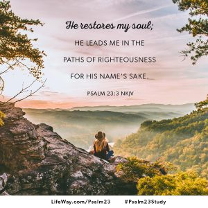Psalm 23 shareable image