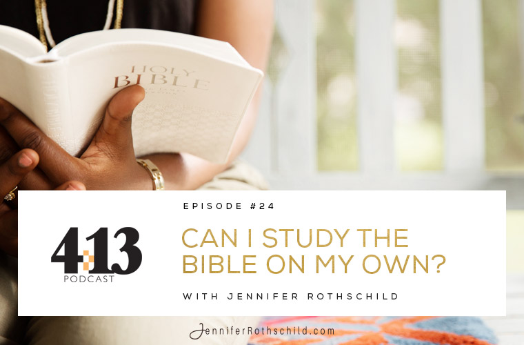 Can I Study the Bible on My Own? [Episode 24] jpg