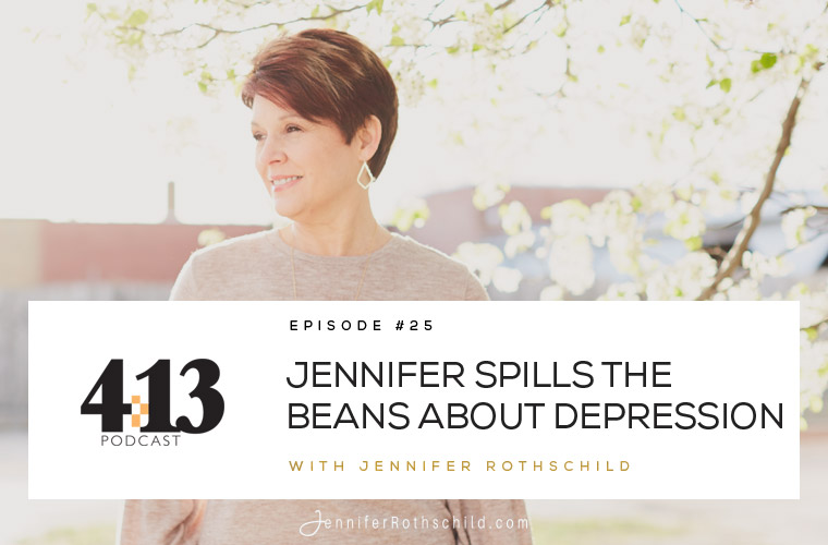 Jennifer Spills the Beans About Depression [Episode 25] jpg