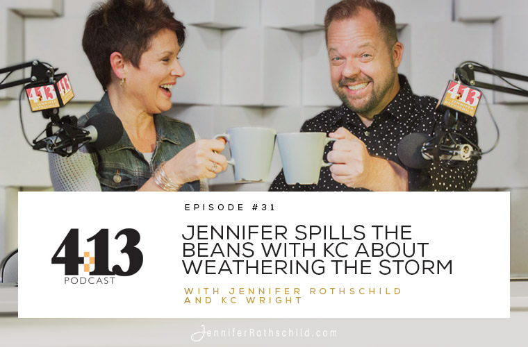 Jennifer Spills the Beans With KC About Weathering the Storm [Episode 31 With KC Wright] jpg