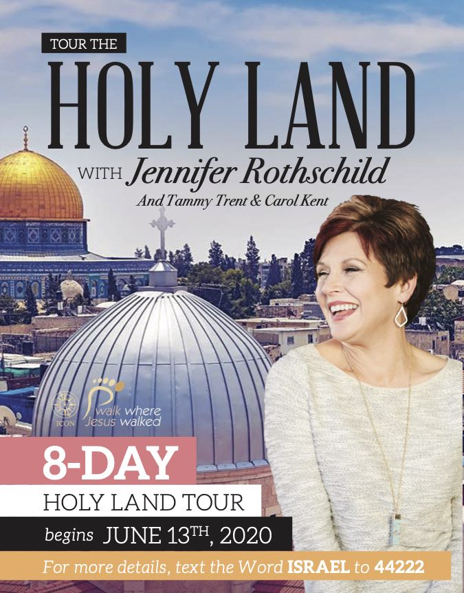 Jennifer Holy Land tour