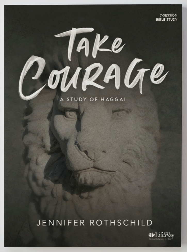 Take Courage Bible Study cover