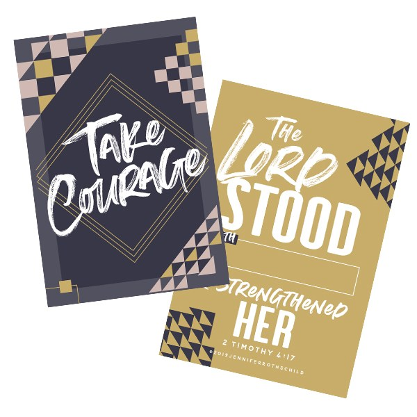 Take Courage Cards