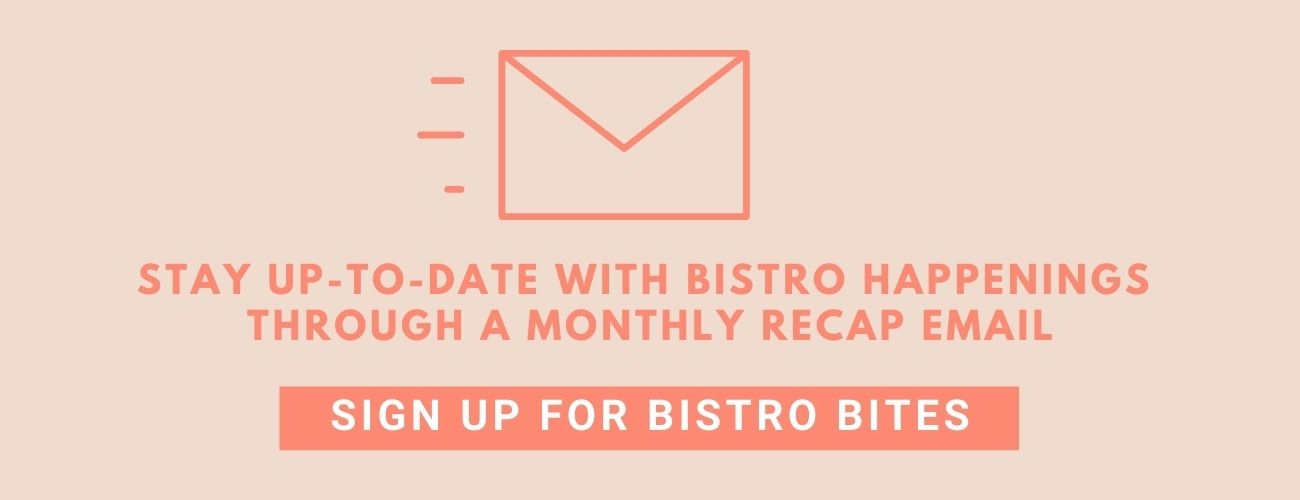 Bistro Bites sign-up