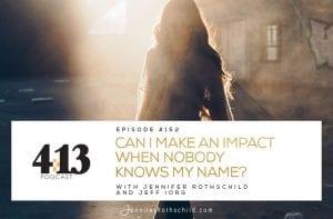 Make Impact Nobody Knows Name