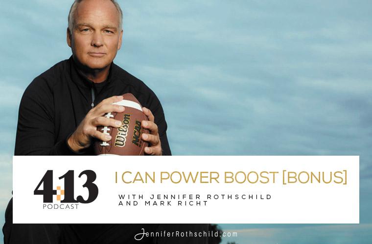Power Boost Mark Richt