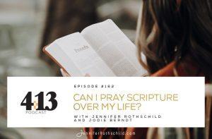 Pray Scripture Over My Life Jodie Berndt