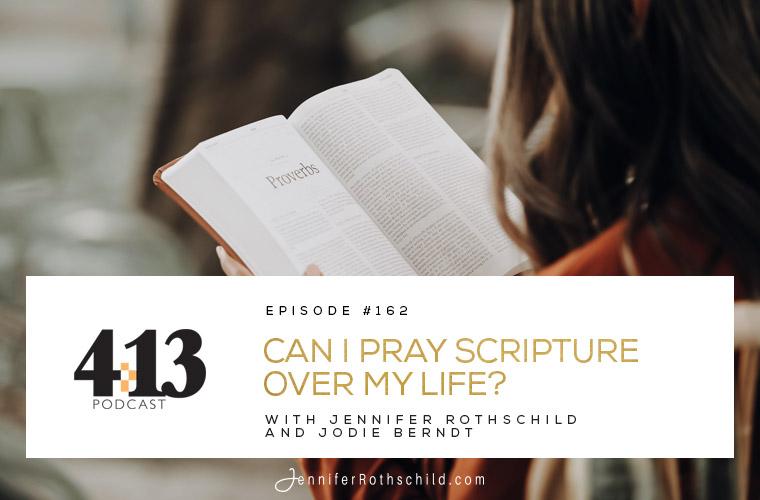 Pray Scripture Over Life Jodie Berndt